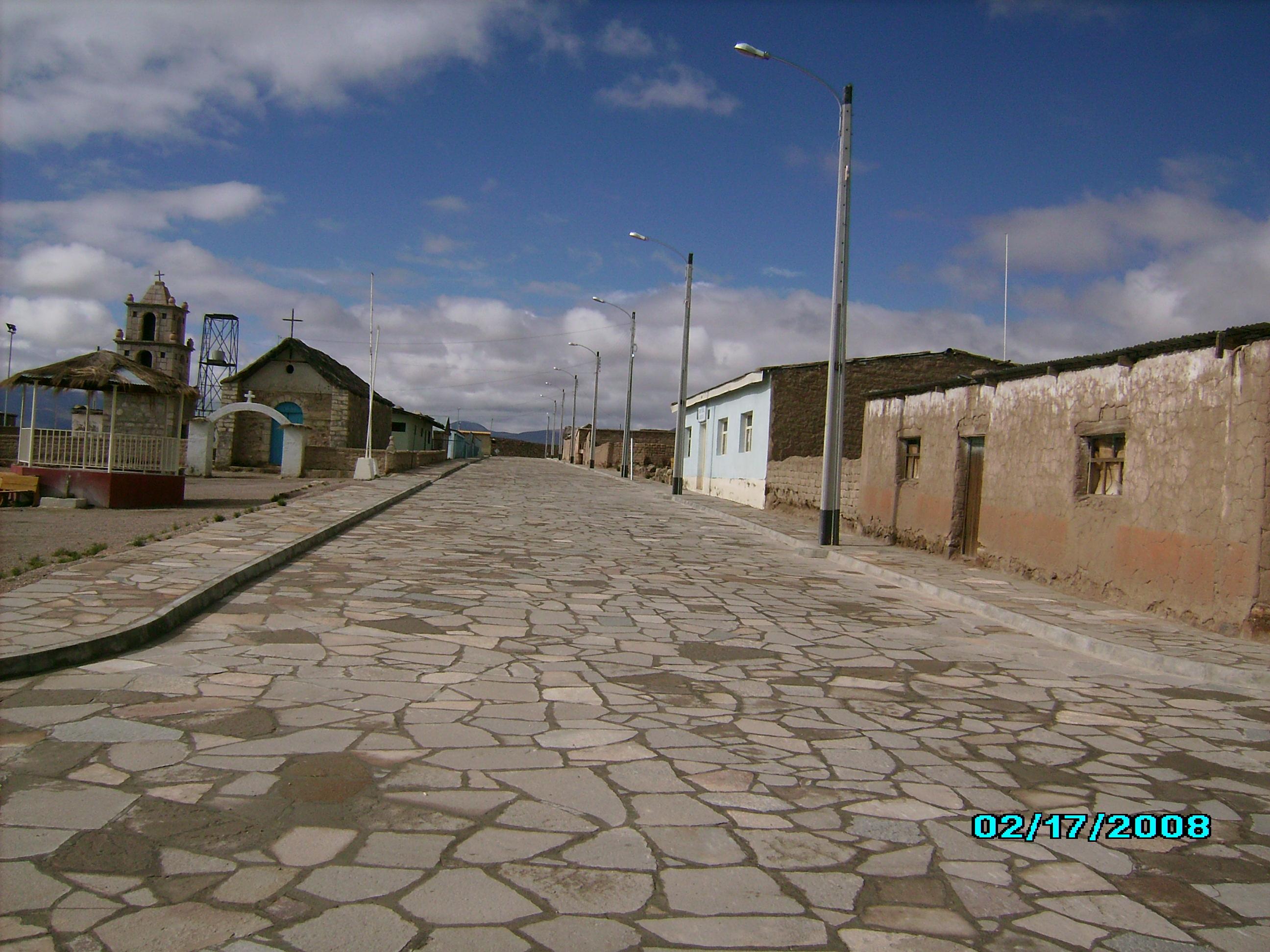 Pueblo de Cancosa