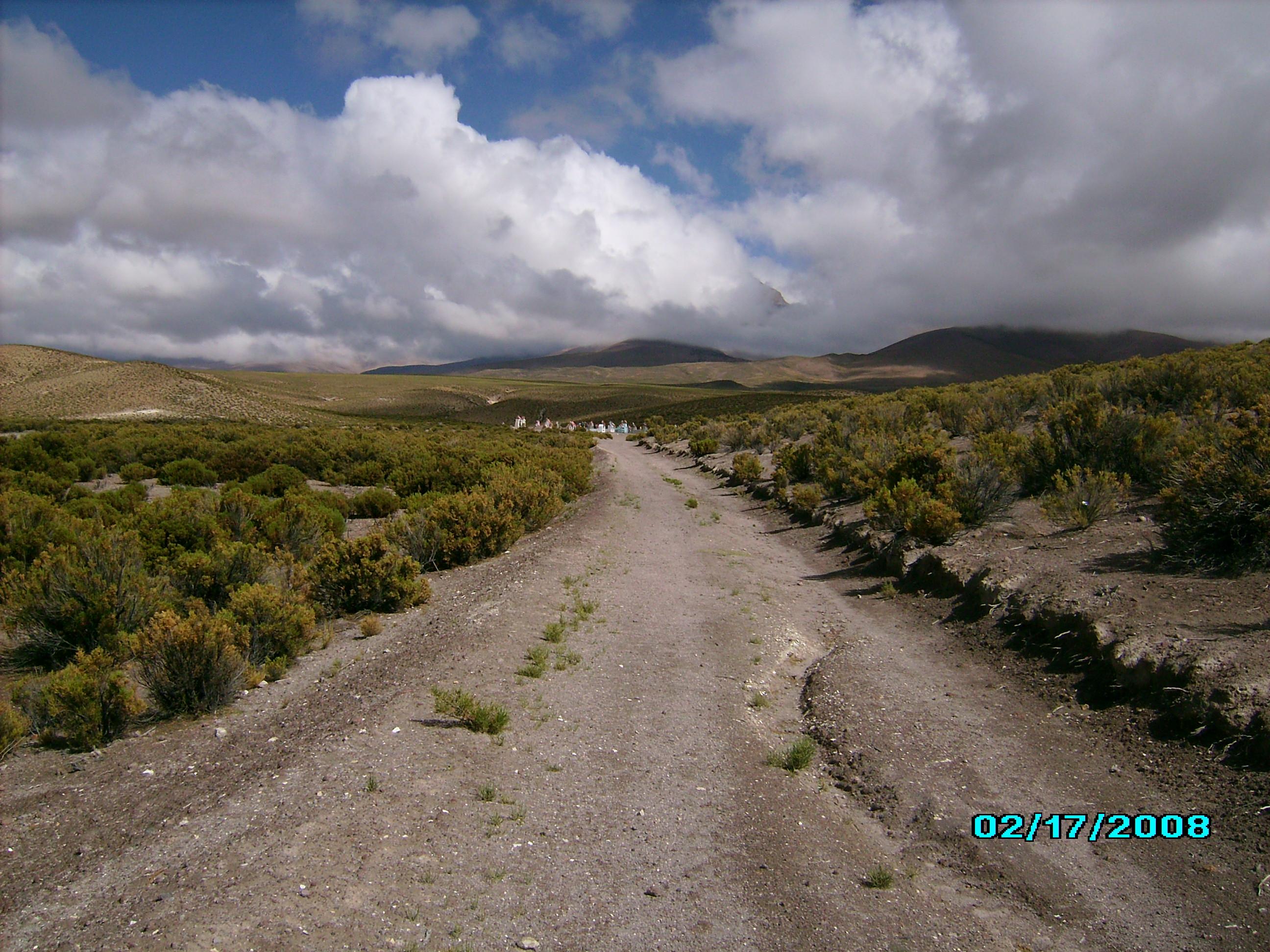 Camino a Cancosa